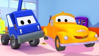 Эвакуатор Том игрузоподъемник в Автомобильный Город | Мультфильм для детей