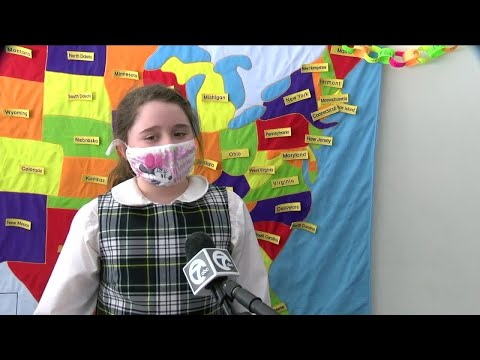Archbishop Walsh and Southern Tier Catholic School celebrates 100 days of in-person instruction