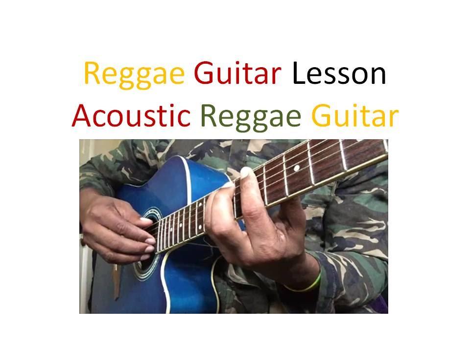 reggae guitar lesson acoustic reggae guitar part 1 youtube. Black Bedroom Furniture Sets. Home Design Ideas