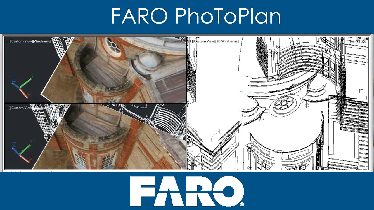 faro photoplan measurements plans models from photos