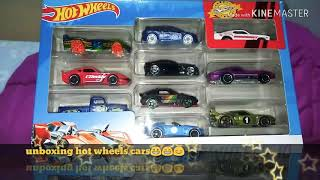 Unboxing hot wheels cars 😊🙂😉