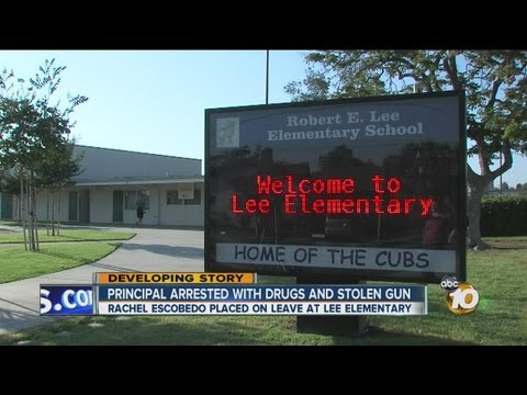 Lee Elementary School Principal Rachel Escobedo arrested, accused of drug, gun possession