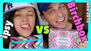 BIRCHBOX vs IPSY {Julio 2015} CON AARON! thumbnail