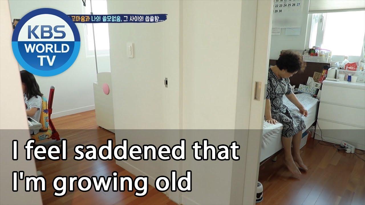 I feel saddened that I'm growing old [Mr. House Husband/2020.09.24]