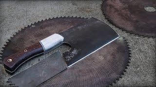 From Saw Blade To Knife | Cleaver
