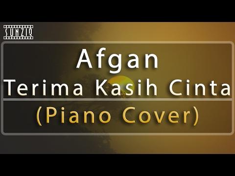 Afgan - Terima kasih Cinta (Piano Cover) No Vocal #sunziq