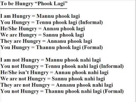 Verbs in punjabi youtube verbs in punjabi malvernweather Choice Image