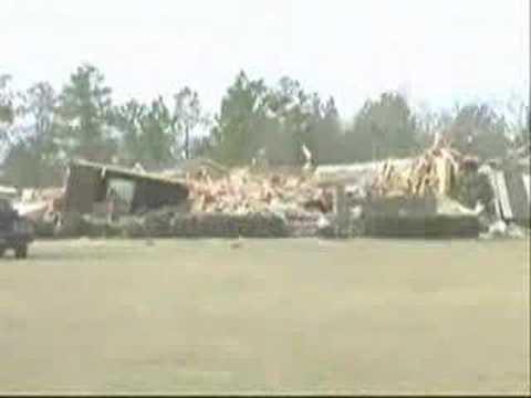 Georgia and Alabama Tornado News Coverage (March 2007)