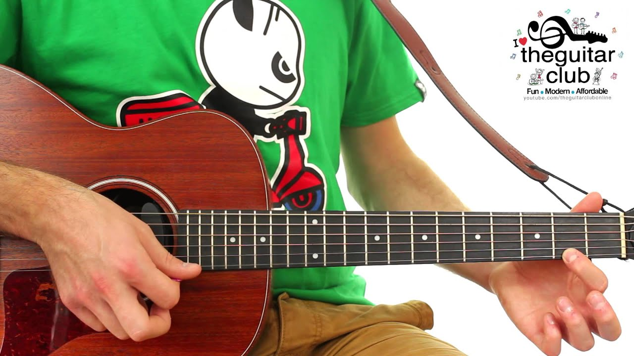 Fun Easy Kids Guitar Lesson