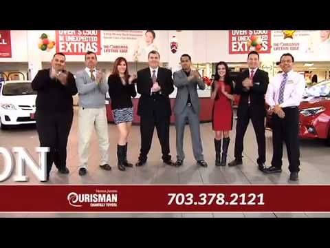 Ourisman Toyota Chantilly >> Ourisman Chantilly Toyota Christmas Comercial 2014 Youtube
