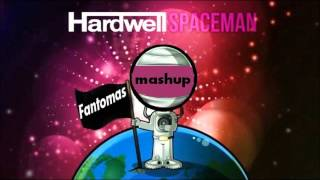 Adrian Sina Feat Diana Hetea - Back To Me & Hardwell - Spaceman  (Fantomas Mash-Up)