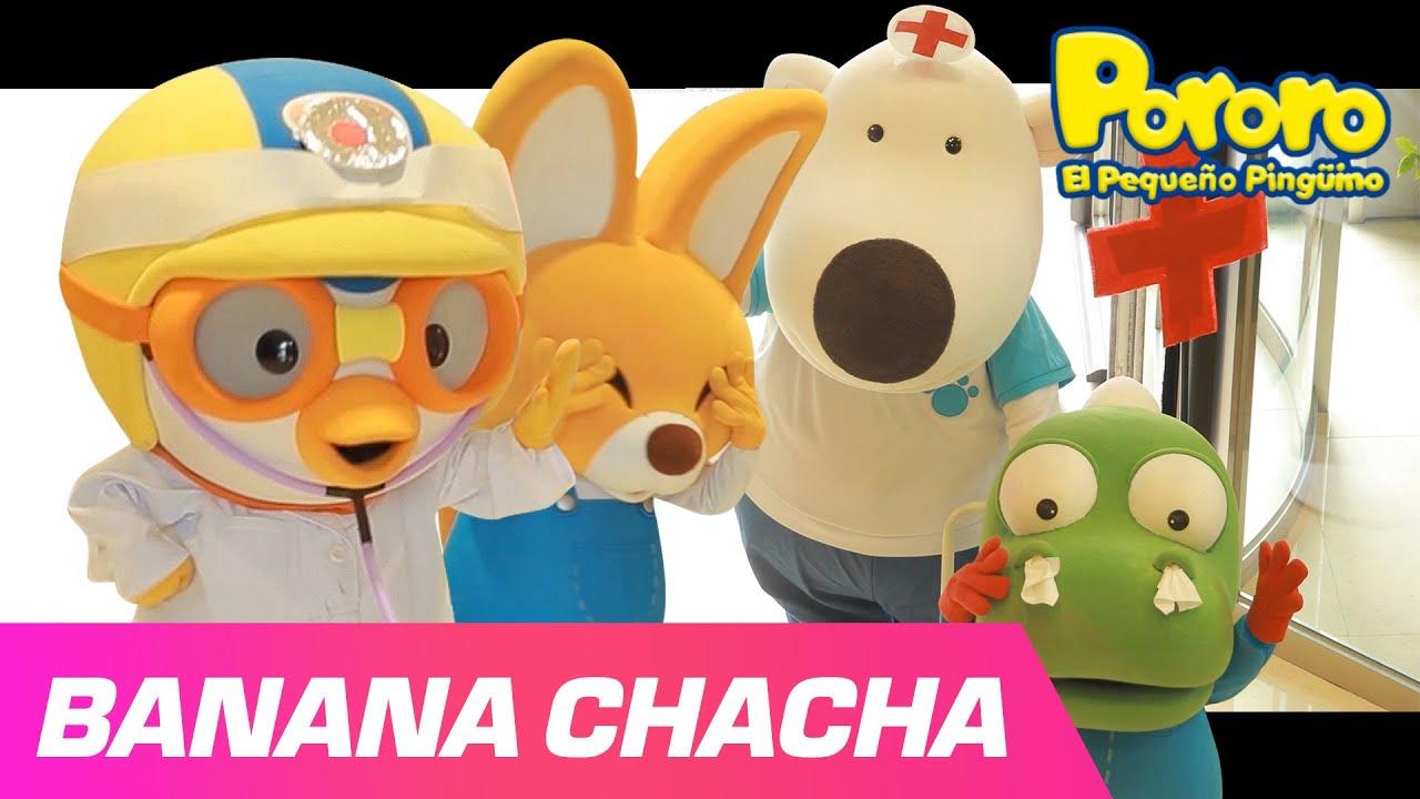 Banana Cha Cha Español | Pororo Canciones Infantiles | Pororo X MOMOLAND