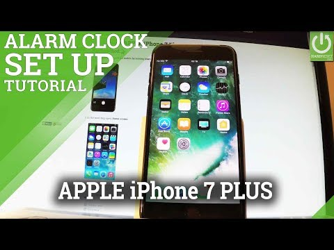 How To Add And Alarm In Apple Iphone Plus