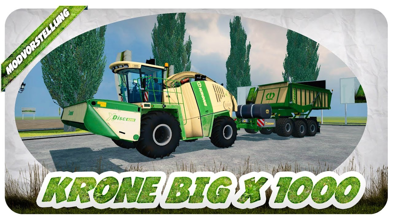 krone big x 1000 pack mod f r landwirtschafts simulator. Black Bedroom Furniture Sets. Home Design Ideas