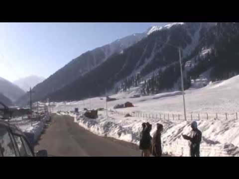 Sonmarg Kashmir in April 2015 Beautiful Morning Scene