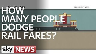 One In Four Admit To Dodging Train Fares