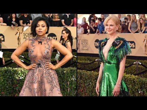 From Taraji P. Henson to Nicole Kidman - The 11 Best Dressed Stars at the 2017 SAG Awards