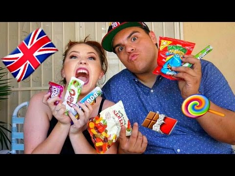 MEXICAN AMERICANS TRY BRITISH CANDY 💪🏼