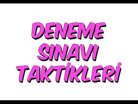 8dk'da DENEME SINAVI TAKTİKLERİ