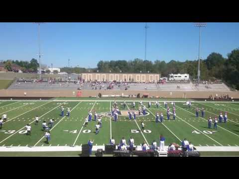 Limestone College marching Saints 2016