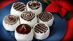 Russische Mützen - Schokoladentörtchen mit Vanillecreme / Russian hats/ Imam Sarigi Tarifi
