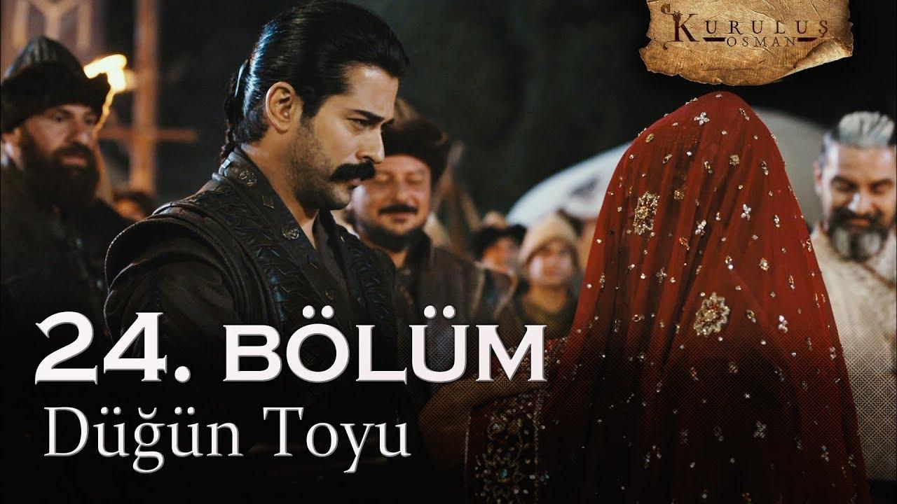 Osman ve Bala'nın düğün toyu - Kuruluş Osman 24. Bölüm