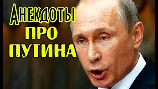 Анекдоты про Путина Смешные анекдоты про Путина