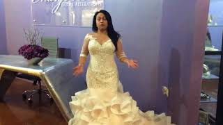 Margo West Bridal Alterations - Custom Lace Jacket