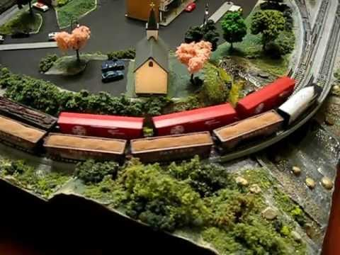 N Scale Lightweight Handmade Train Garden with Kato Unitrack