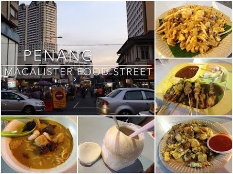 Jalan Macalister BEST FOOD STREET in PENANG
