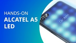 Alcatel A5 LED [Unboxing] - Canaltech