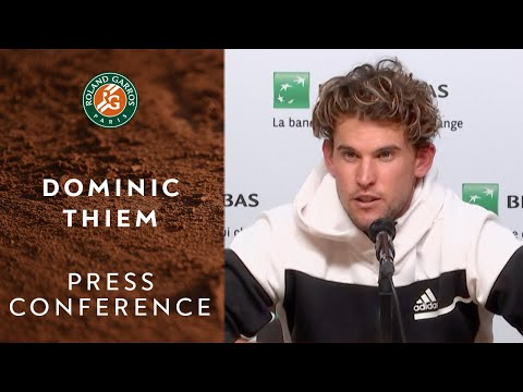 Dominic Thiem - Press Conference after Quarterfinals | Roland-Garros 2020