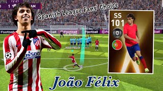 Review Best Young Player SS 101 Rating JOÃO FÉLIX - Pes 2020 Mobile