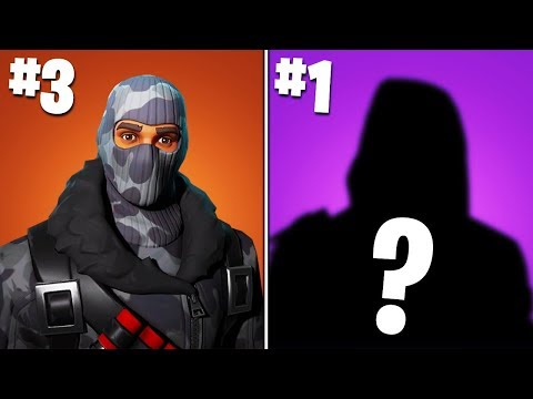 10 Fortnite Skins That NOBODY HAS... (RARE)