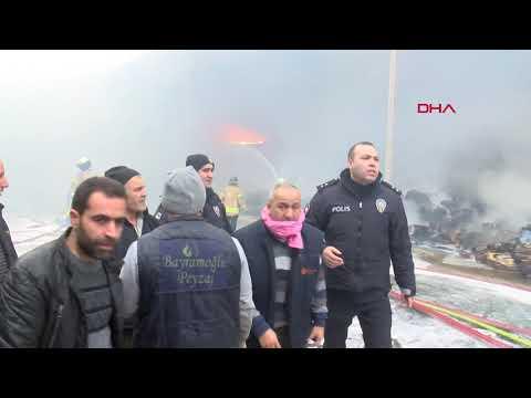 Arnavutköy'de Fabrika Yangını:  Fabrika Sahibi Gözyaşlarını Tutamadı