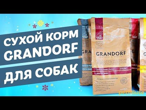 Сухой корм для собак Grandorf | Грандорф обзор