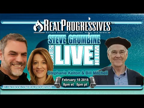 Drs Stephanie Kelton and Bill Mitchell join Real Progressives to present the world of #MMT