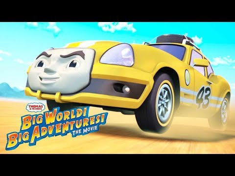 Thomas & Friends™ Behind the s Big World! Big Adventure! the Movie  Thomas & Friends UK