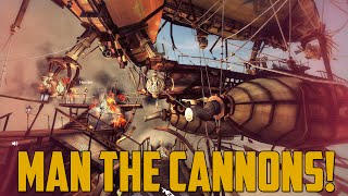 MAN THE CANNONS! (Guns of Icarus)