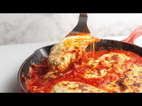 The Best Chicken Mozzarella - 5 Ingredients!