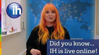 International House is teaching online!