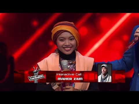 VIRALL !!! Penampilan Sharla di The Voice Kids di telepon langsung sama MAHER ZAIN