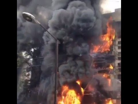 Massive fire video: Gas tanker explodes wreaking huge damage in Kazakhstan