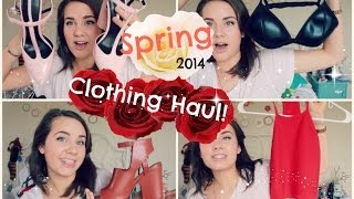 Spring 2014 Clothing Haul!!
