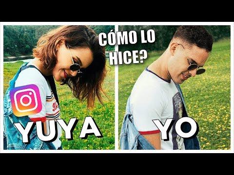 IMITANDO FOTOS DE YUYA, VILLALOBOS Y MÁS YOUTUBERS! | iOA