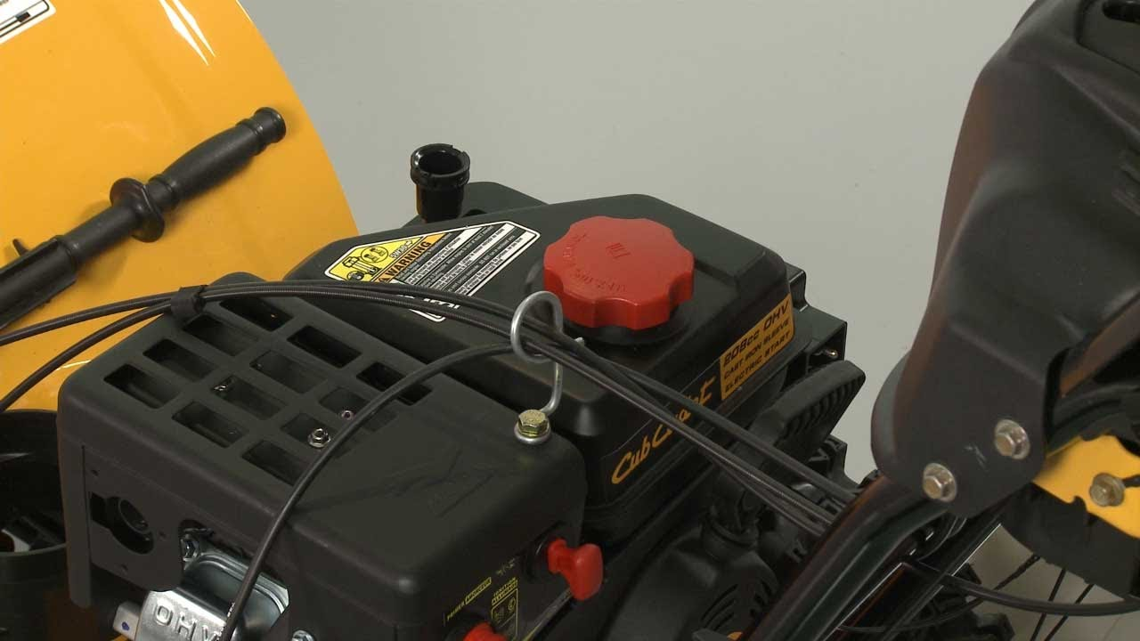 medium resolution of cub cadet snowblower fuel tank replacement 951 10653b