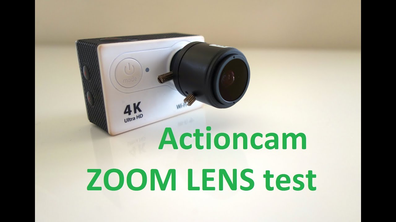 eken actioncam zoom lens test youtube. Black Bedroom Furniture Sets. Home Design Ideas