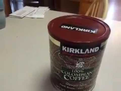Kirkland Costco Signature Columbian Coffee Review Good Stuff Like It