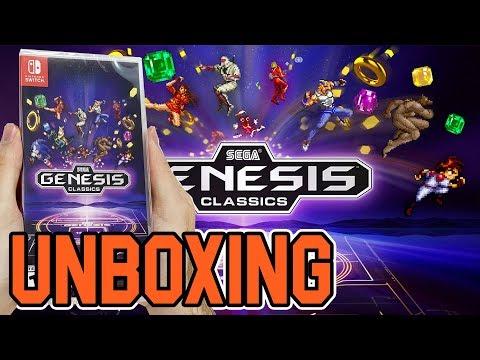 Sega Genesis Classics (Nintendo Switch) Unboxing!! thumbnail