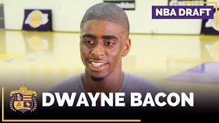 NBA Draft Prospect: Dwayne Bacon Lakers Interview (Florida State, Guard)